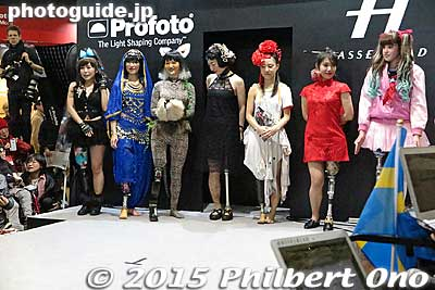 The amputee fashion show was held twice only on Feb. 14, 2015.