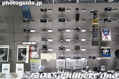 Early Nikon cameras.