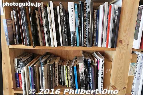 Full collection of Moriyama Daido photobooks.